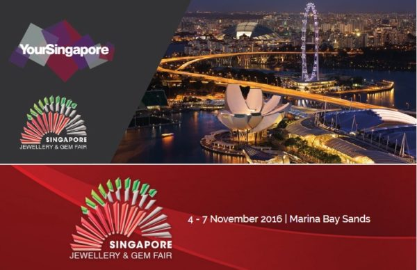 Singapore Gem & Jewellery Fair - SGJF 2016