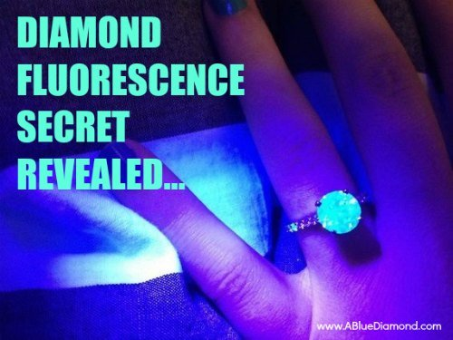 What is Diamond Fluorescence? - Why Diamonds Under Black